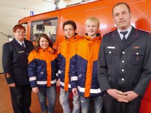 Jugendwarte und neuer Jugendausschuss in Ohndorf.